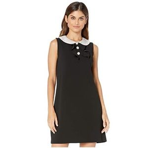 Betsy Johnson dress lined dress black/white,NWT